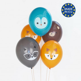 5 Balões Bosque