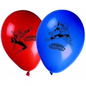 Balões Latex Homem Aranha conj. 8