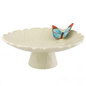 Cloudy Butterflies - Prato com Pé 39cm