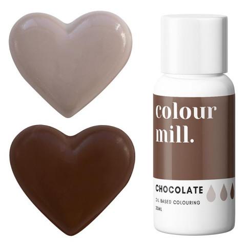 Corante COLOUR MILL Castanho Chocolate – 20ml