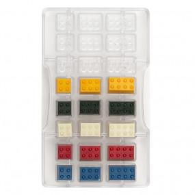 Molde Policarbonato Chocolate Lego