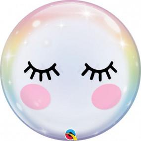 Balão Bubble Pestanas 55cm