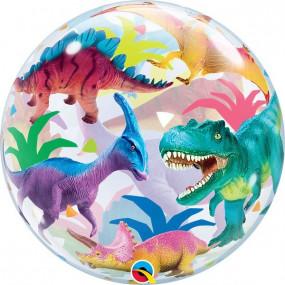Balão Bubble Dinossauro 55CM