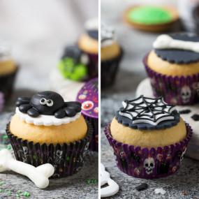 Formas Cupcake Halloween - conj. 36
