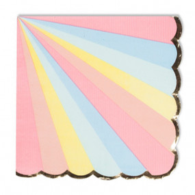 Guardanapos Riscas Rainbow