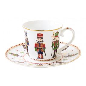 Chávena Chá e Pires NUTCRACKER