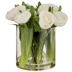 Jarra Ranunculus Brancos