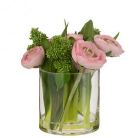 Jarra Ranunculus Rosa P