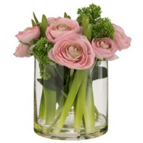 Jarra Ranunculus Rosa