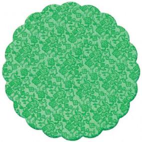 100 Tapetinhos Brigadeiro Verde Escuro