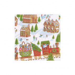 Guardanapos Gingerbread Village P