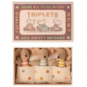 Ratinhos Trigémeos  na Caixa Maileg