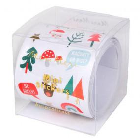 Rolo Mini Stickers Natal