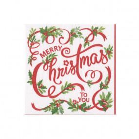 Guardanapos Merry Christmas P