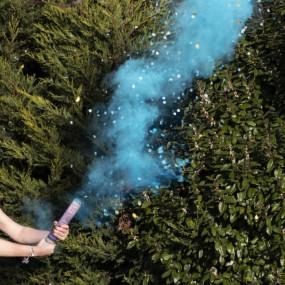 Fumo e Confetis Azul