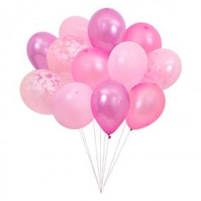 Bouquet Balões Rosa