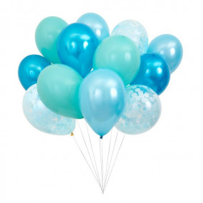 Bouquet Balões Azuis
