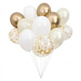 Bouquet Balões Dourado