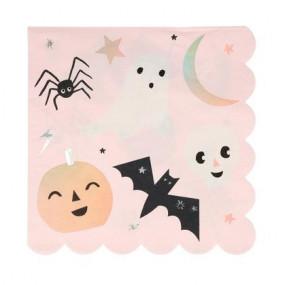 Guardanapos Halloween Pastel