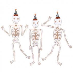 DECORAÇÕES Esqueletos - CONJ.3