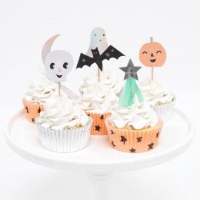 Kit Cupcakes Halloween Pastel