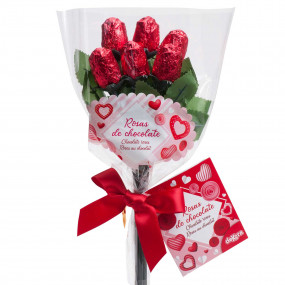 BOUQUET ROSAS CHOCOLATE