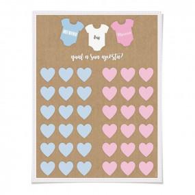 Cartaz Chá de Bebé