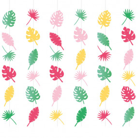 Cortina Decorativa Tropical