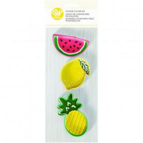 Cortadores Frutas conj. 3