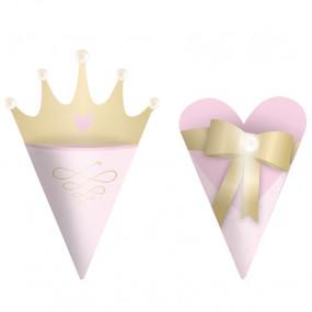 Mini Cones Princesa - conj.24
