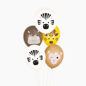 5 Balões Safari