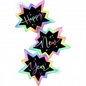 Balão Happy New Year 130cm