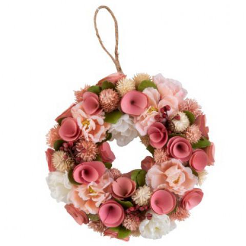 Coroa Flores Secas