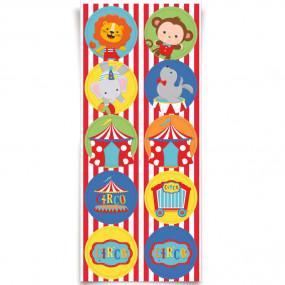 Etiquetas  Circo - conj.30