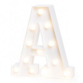 Letra Luminosa A - 22cm