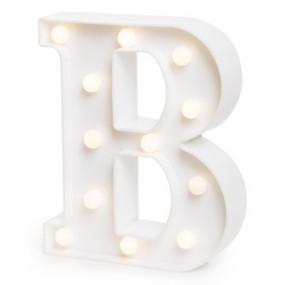 Letra Luminosa B - 22cm