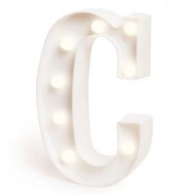 Letra Luminosa C - 22cm
