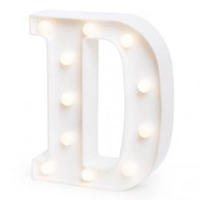 Letra Luminosa D - 22cm