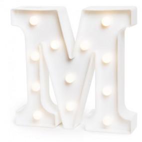 Letra Luminosa M - 22cm