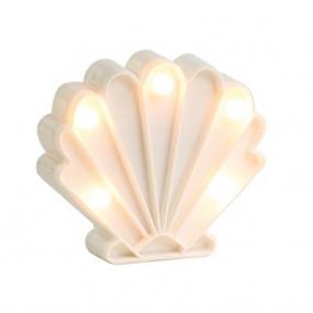 Mini Luz Concha Branca