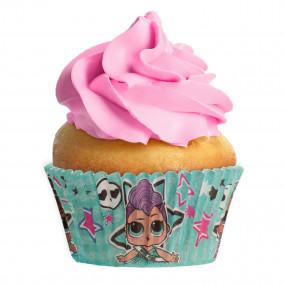 Formas Cupcake LOL - conj. 25