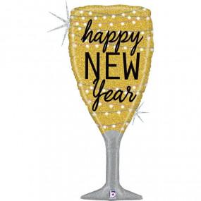 Balão Happy New Year 94cm