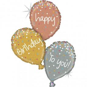 Balão BALÕES HAPPY BIRTHDAY 101cm
