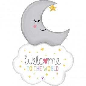 Balão Welcome Baby 107cm
