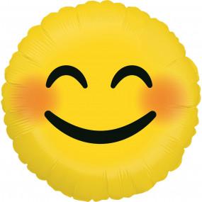 Balão Emoji Sorrir 46cm