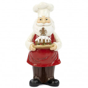 Pai Natal Pasteleiro 20,5cm