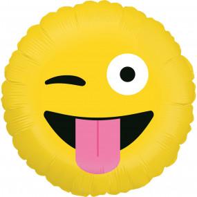 Balão Emoji Piscar Olho 46cm