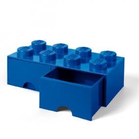 Caixa Lego Gaveta Azul Grande