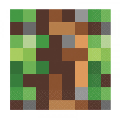 Guardanapos Minecraft