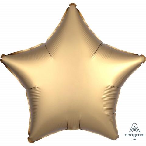 Balão Estrela Dourada Mtte 48cm